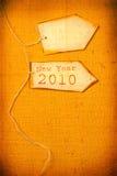Ano 2010 Foto de Stock Royalty Free