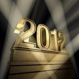 Ano 2012 ilustração royalty free