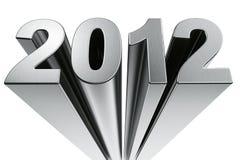 Ano 2012 Imagem de Stock Royalty Free