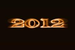 Ano 2012 Imagem de Stock