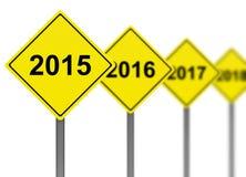 Ano 2015 Foto de Stock