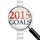 Ano 2015 Imagens de Stock Royalty Free