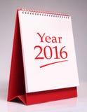 Ano 2016 Foto de Stock