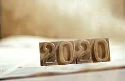 Ano 2020 Fotos de Stock