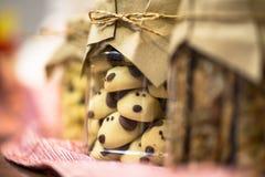 Ano chinês da cookie do ano novo do cão imagens de stock royalty free