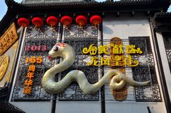 Ano chinês da serpente Fotografia de Stock