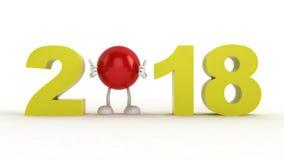 Ano civil novo Fotos de Stock