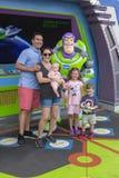 Ano claro do zumbido, Disney World, curso, Florida imagens de stock