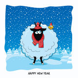 Ano da cabra Fotografia de Stock