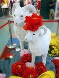 Ano da cabra - lunar Fotografia de Stock