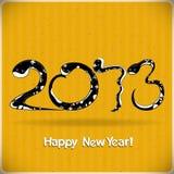Ano da serpente preta Fotografia de Stock Royalty Free
