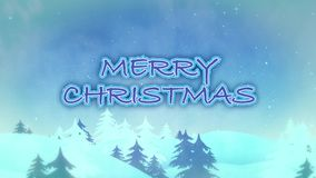 Ano de Frosty Merry Christmas Happy New
