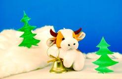 Ano de touro Fotografia de Stock Royalty Free