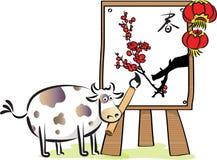 Ano do BOI Imagem de Stock Royalty Free