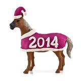Ano do cavalo Imagem de Stock Royalty Free