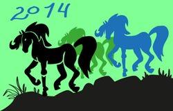 Ano do cavalo Foto de Stock Royalty Free