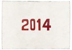Ano do cavalo 2014 Imagem de Stock Royalty Free