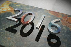 Ano entrante Fotografia de Stock