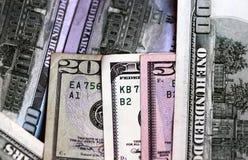 Ano financeiro 2015 do dólar Fotografia de Stock