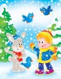Ano novo 05 ilustração stock