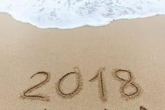 Ano novo 2018 fotos de stock royalty free