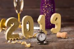 Ano novo 2019 Imagem de Stock Royalty Free