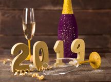 Ano novo 2019 Foto de Stock