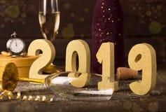 Ano novo 2019 Fotos de Stock Royalty Free