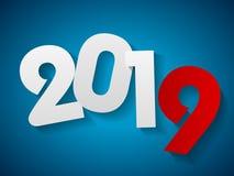 Ano novo ilustração do vetor