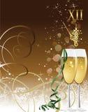 Ano novo. ilustração stock