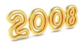 Ano novo 2008 Imagem de Stock