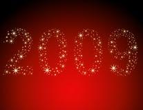Ano novo 2009 Foto de Stock Royalty Free
