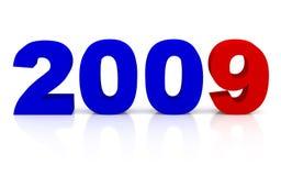 Ano novo 2009 Imagem de Stock Royalty Free