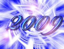 Ano novo 2009 Imagens de Stock