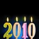Ano novo 2010 Foto de Stock Royalty Free