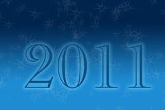 Ano novo 2011 fotografia de stock