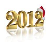 Ano novo 2012 ilustração stock