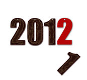 Ano novo: 2012 Imagens de Stock Royalty Free