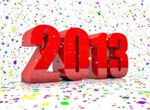 Ano novo 2013 Imagens de Stock