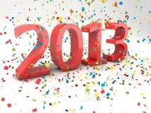 Ano novo 2013 Imagens de Stock Royalty Free