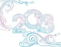 Ano novo 2013 Fotografia de Stock Royalty Free