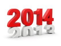Ano novo 2014 Foto de Stock Royalty Free