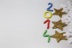 Ano novo 2014 Imagem de Stock Royalty Free