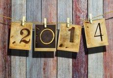 Ano novo 2014 Fotos de Stock