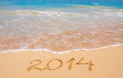 Ano novo 2014. Fotografia de Stock