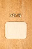 Ano novo 2015 Foto de Stock