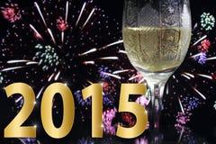 Ano novo 2015 Fotografia de Stock