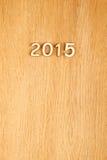 Ano novo 2015 Imagens de Stock Royalty Free
