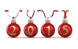 Ano novo 2015 Fotos de Stock