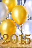 Ano novo 2015 Fotografia de Stock Royalty Free